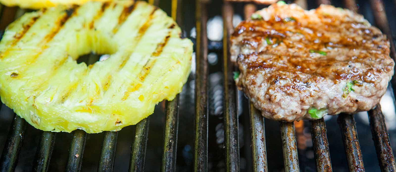Hawaiian Pork Burger