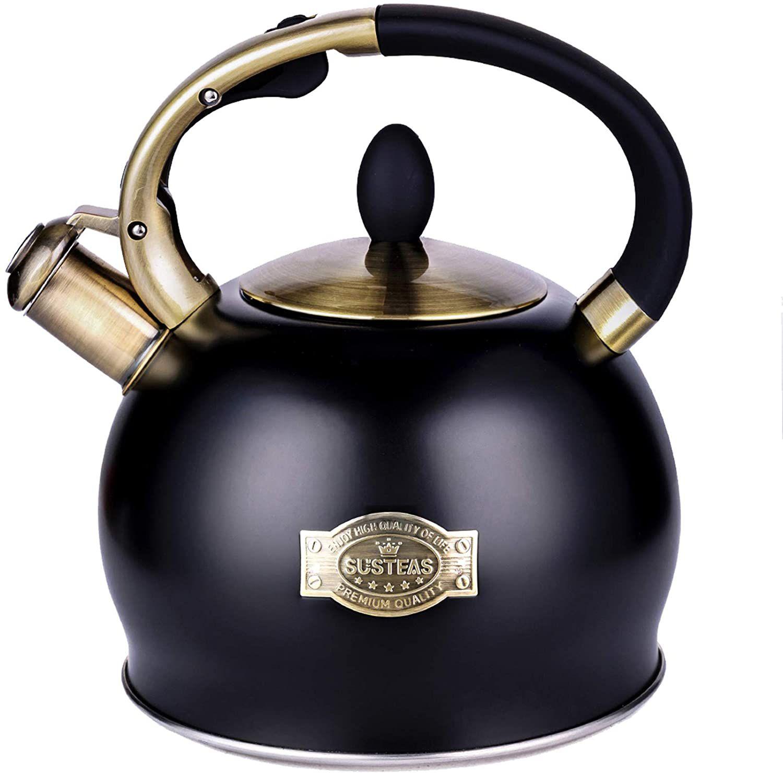 SUSTEAS Stove Top Whistling Tea Kettle
