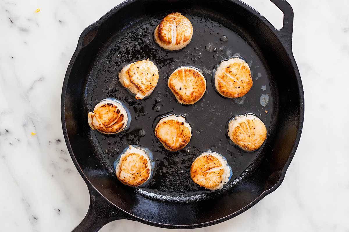 Seared Sea Scallop recipe