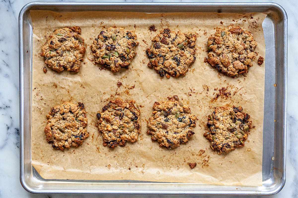 Healthy Breakfast Cookies with Tahini