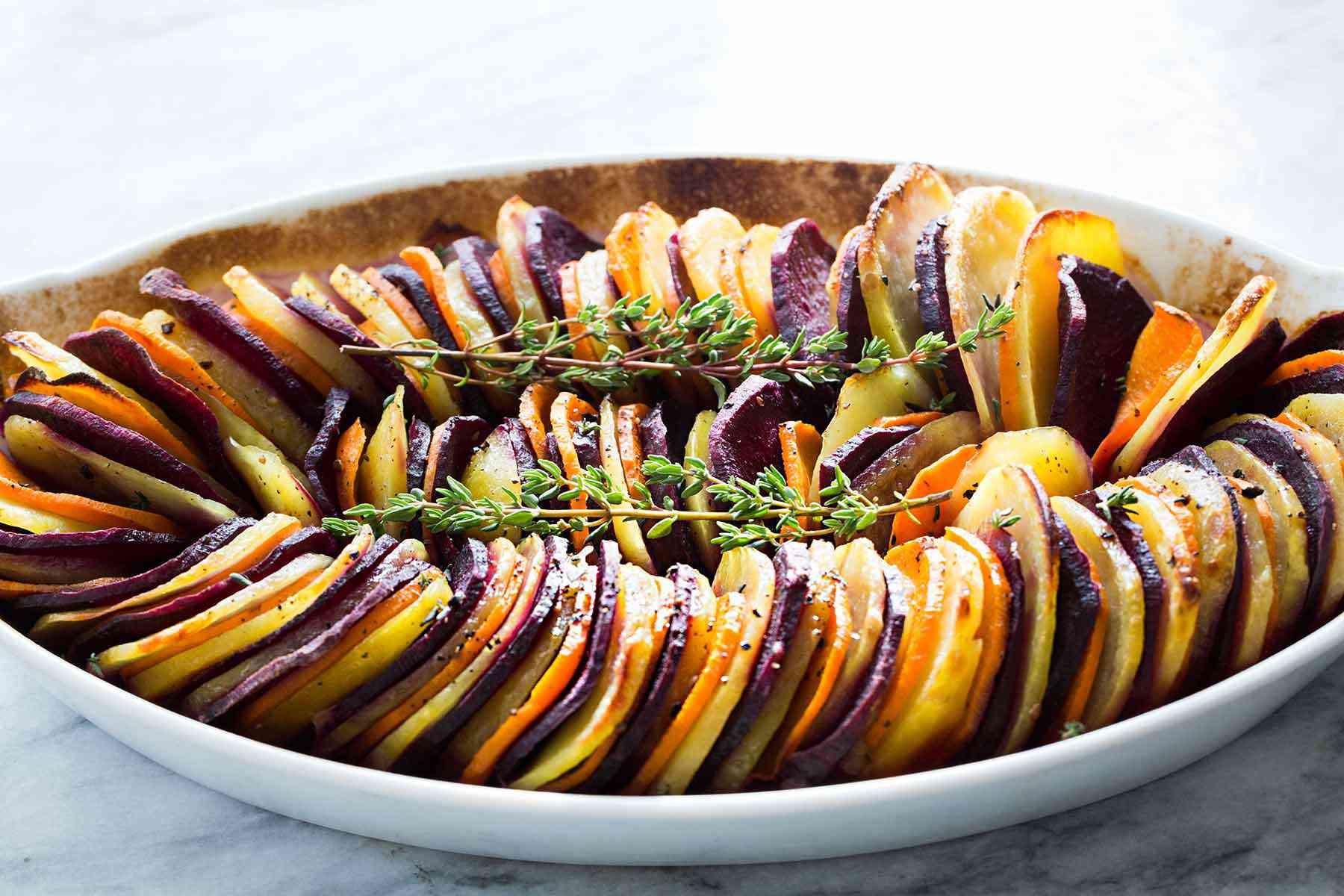 Sweet Potato Yukon Gold Bake