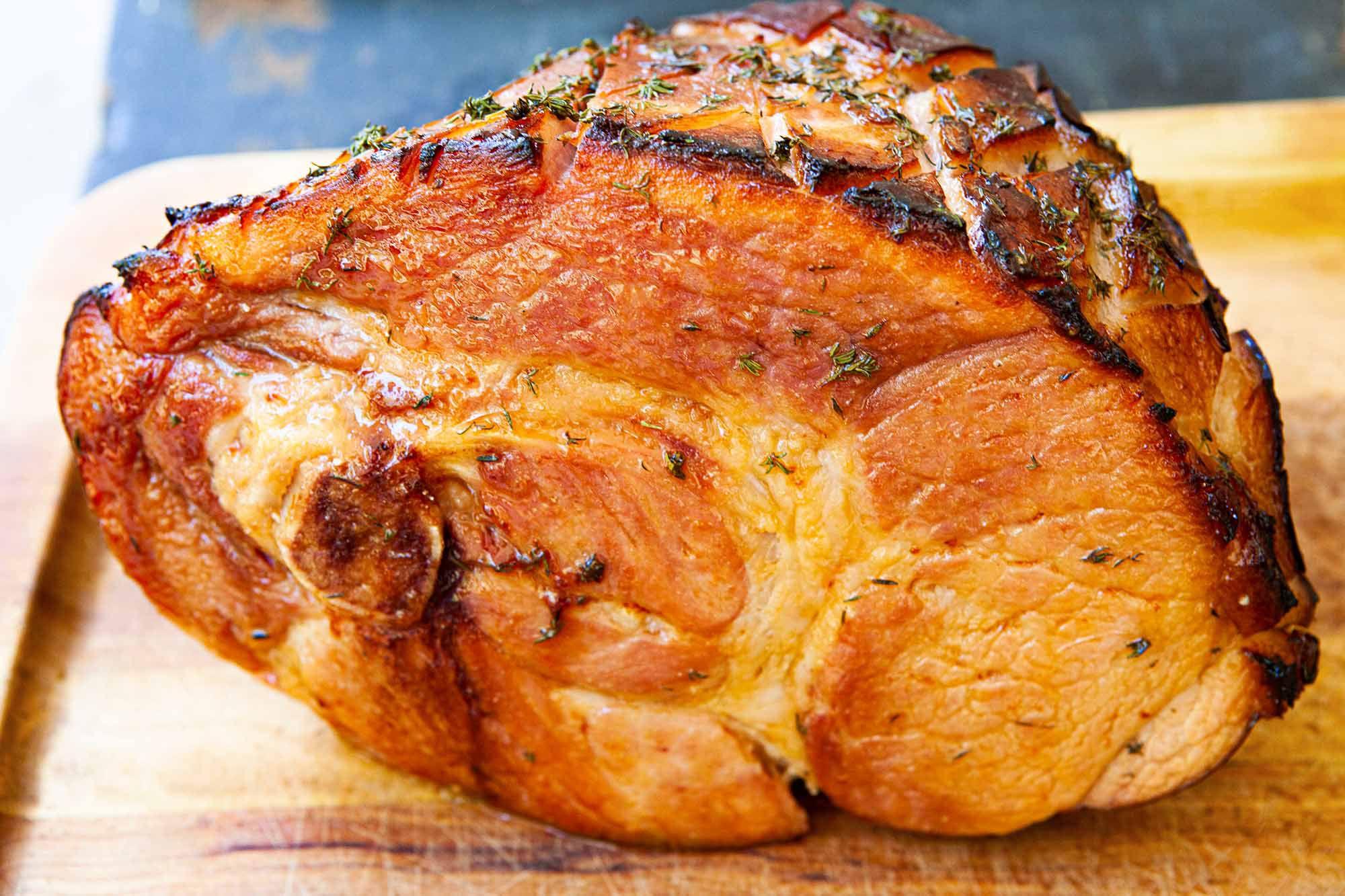 Glazed Baked Ham Recipe