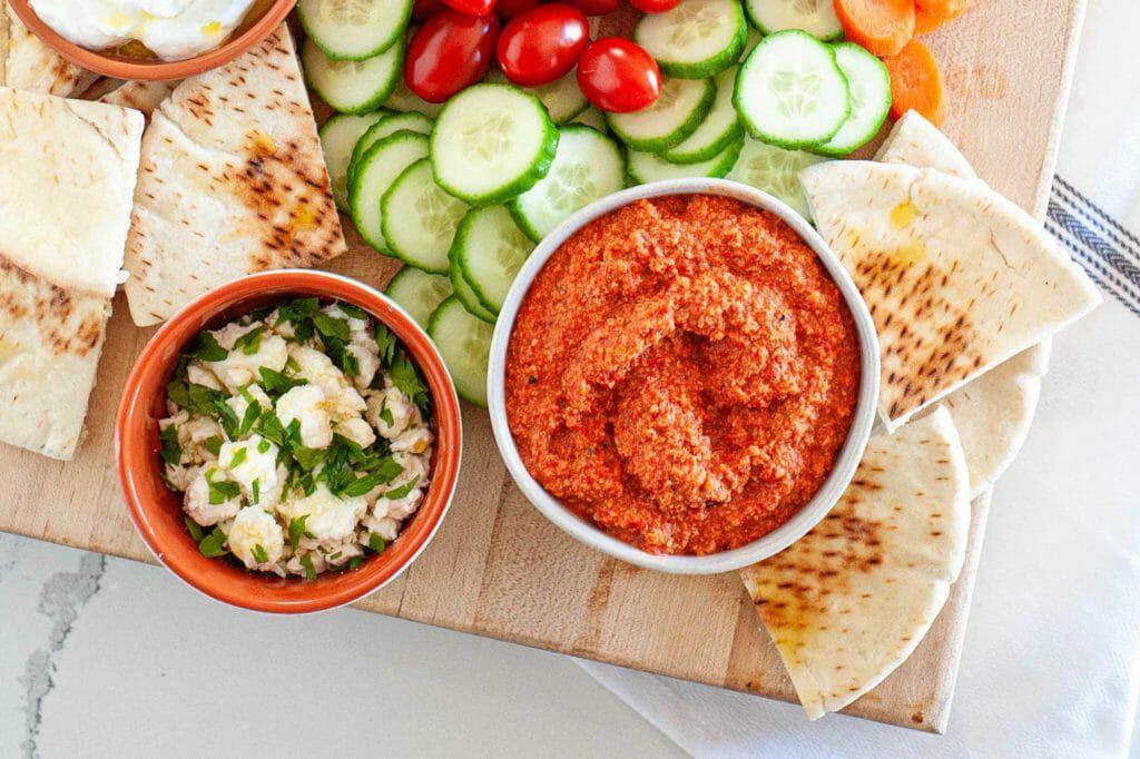 How to make homemade muhammara dip