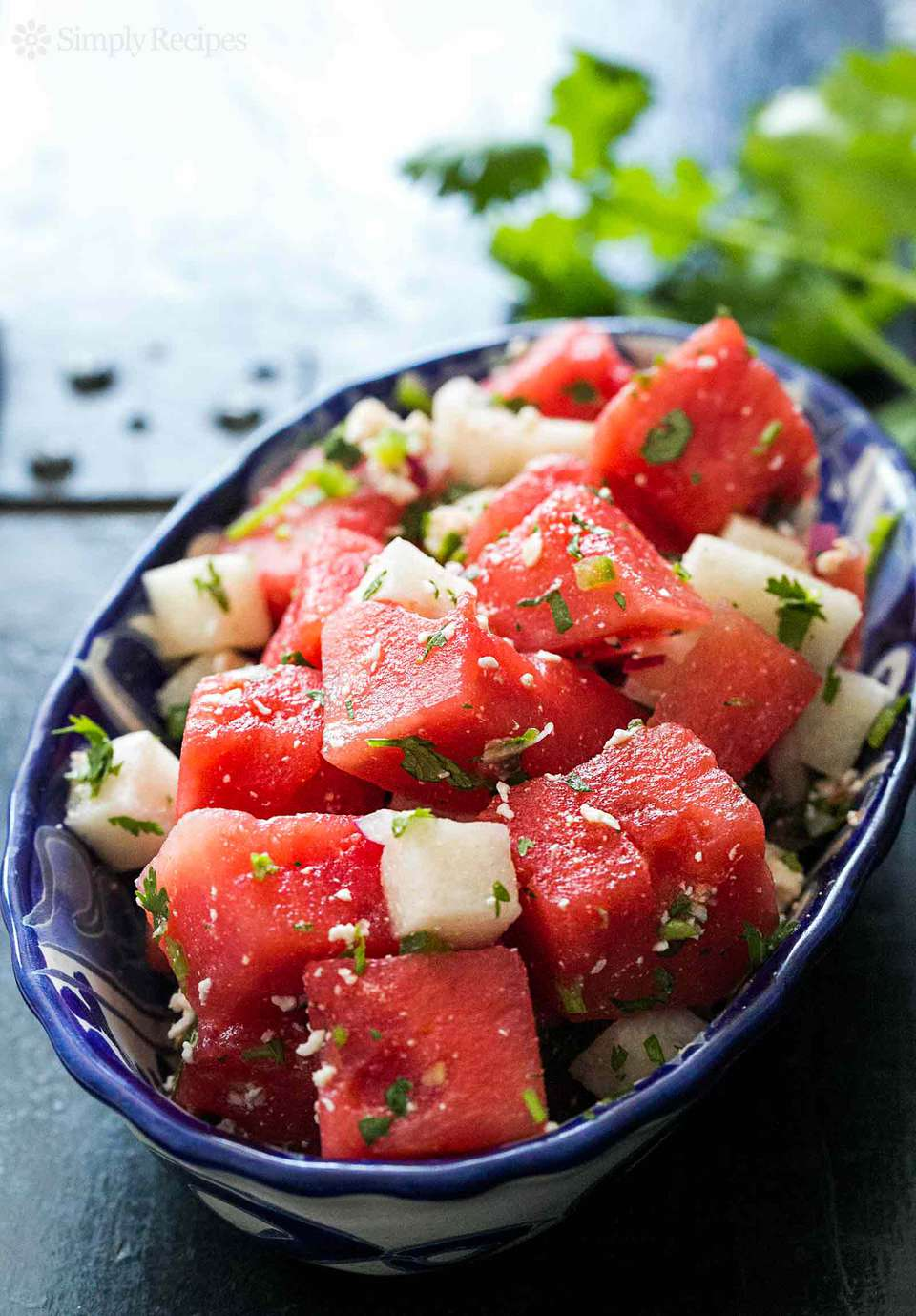 Watermelon Salad with Cotija