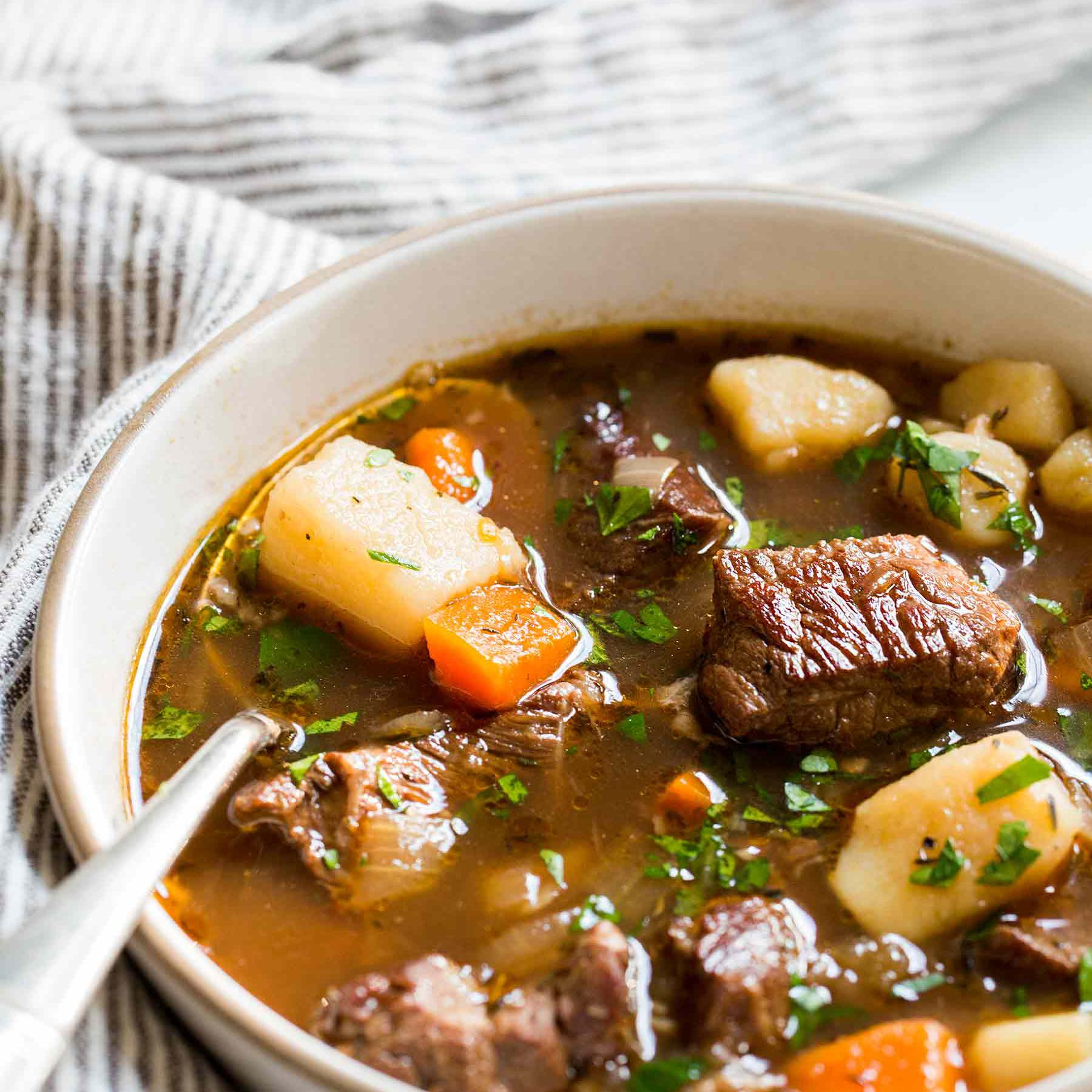 Irish Beef Stew Recipe With Video