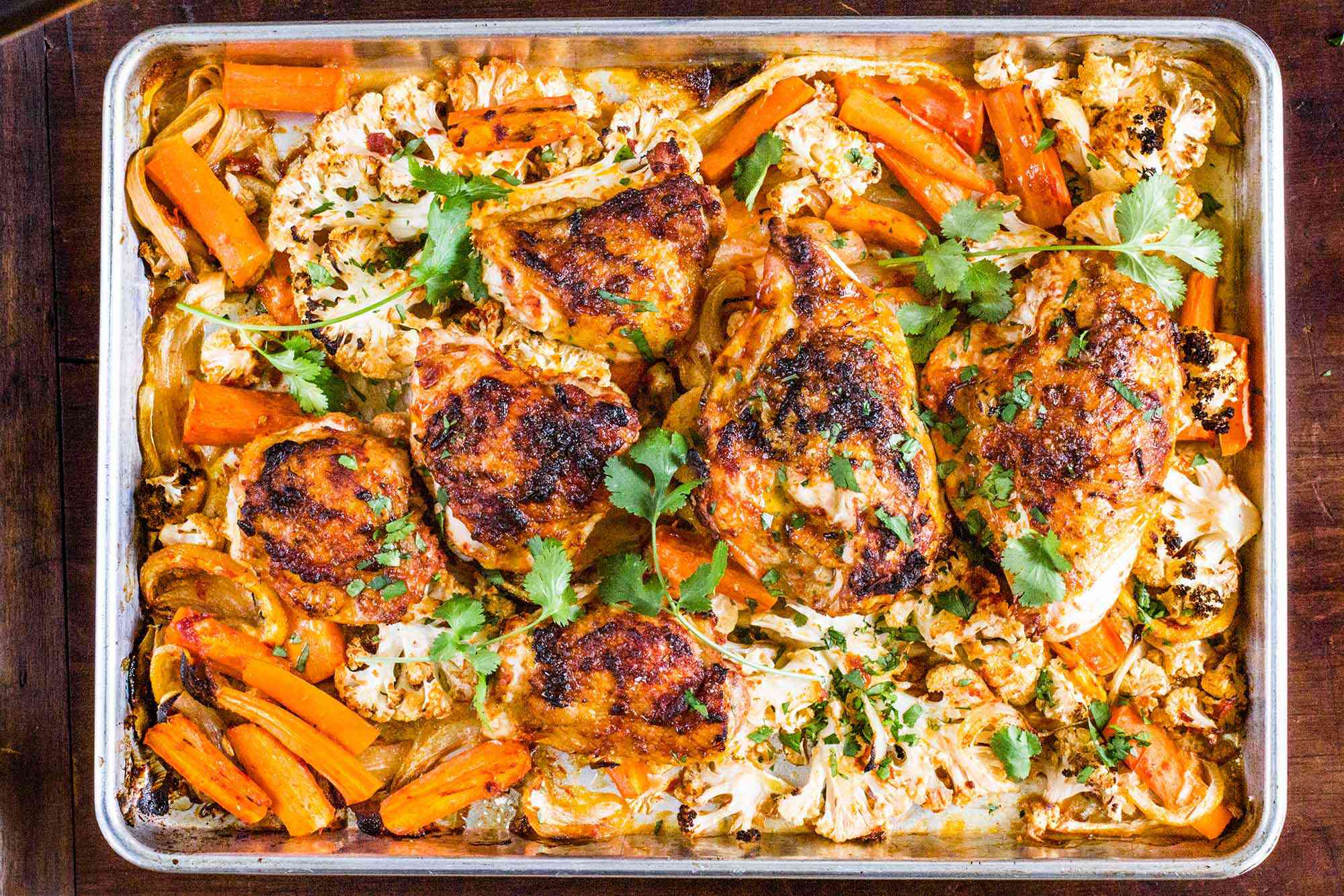 Sheet Pan Meal with Chicken