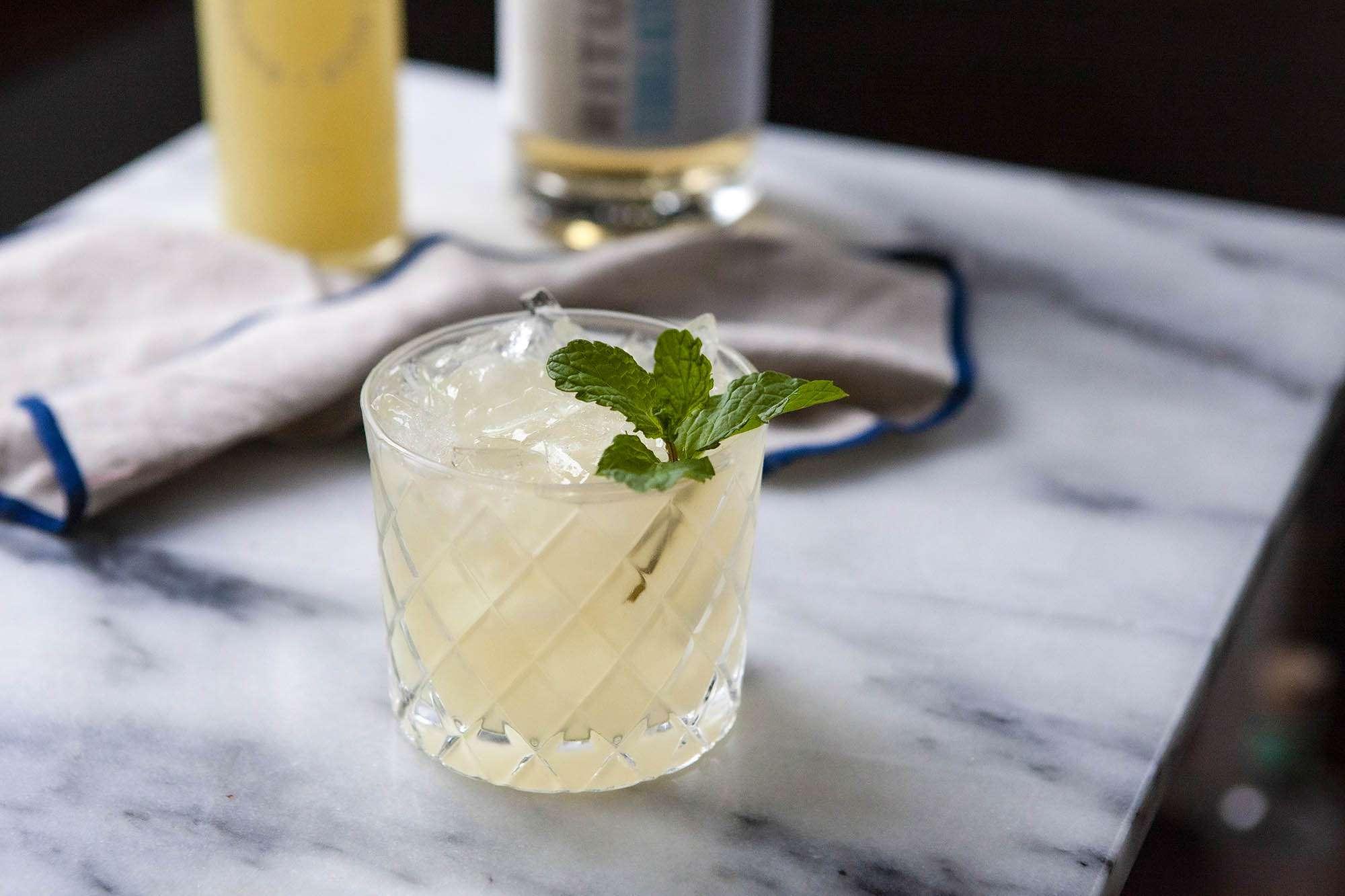 Non-alcoholic Mexican mule