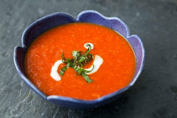 Roasted Tomato Chipotle Soup