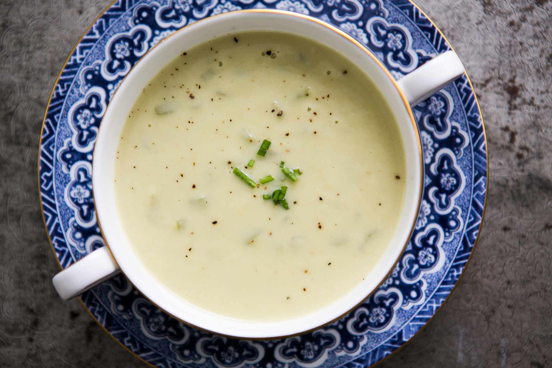 How you make cream of celery soup