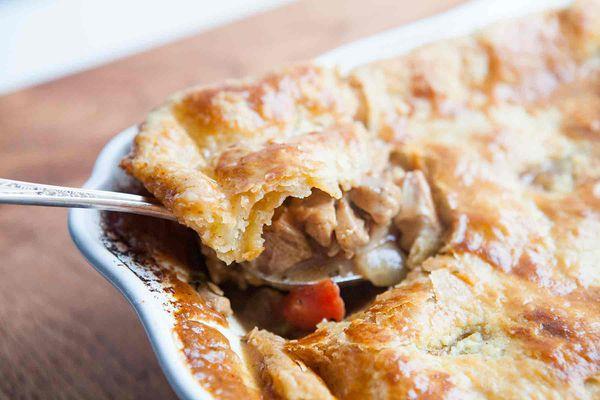 Cajun Turkey Pot Pie