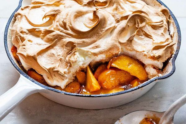 Baked Peaches Dessert