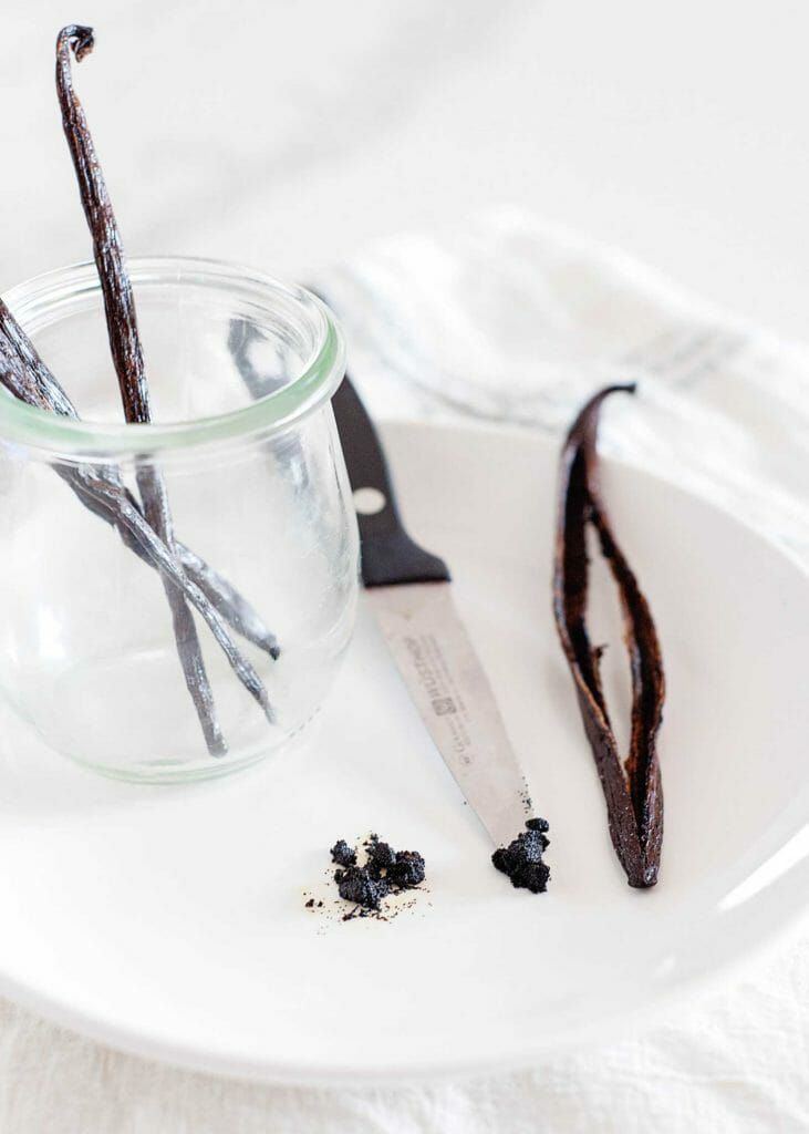 Types of vanilla beans in a guide to vanilla