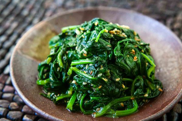 Spinach Sesame Garlic