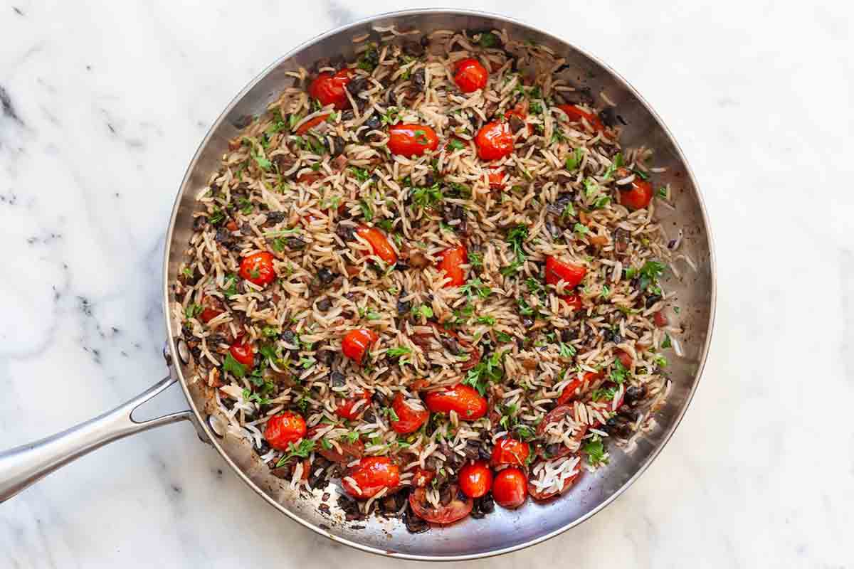 Delicata Squash Stuffed with Rice add the rice