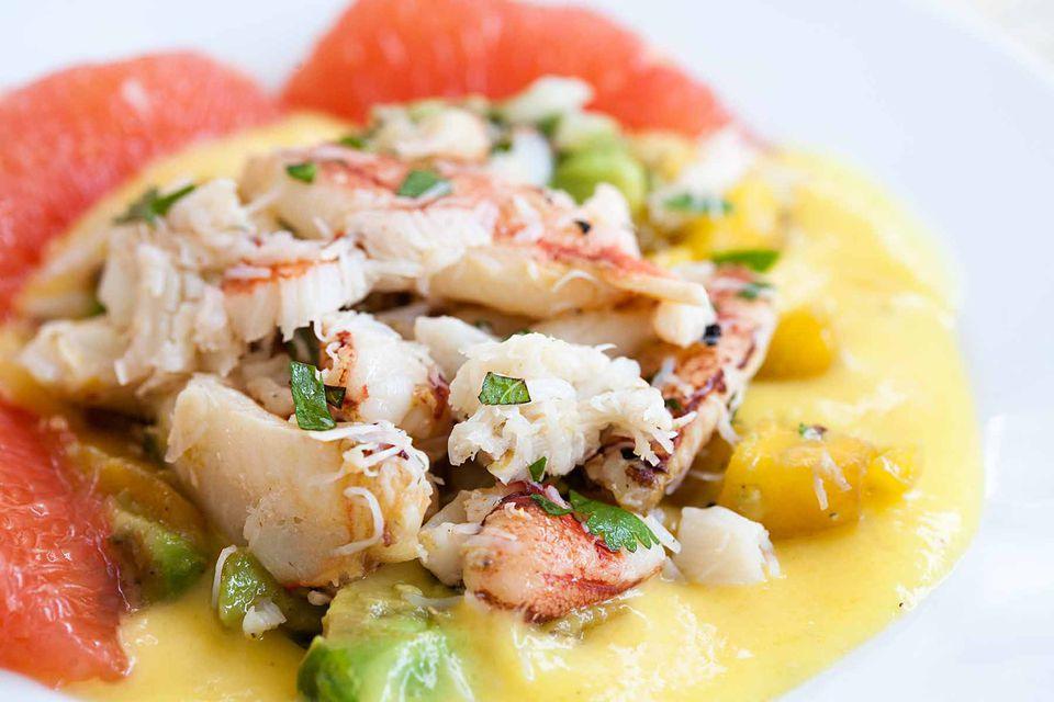 Crab Mango Avocado Salad