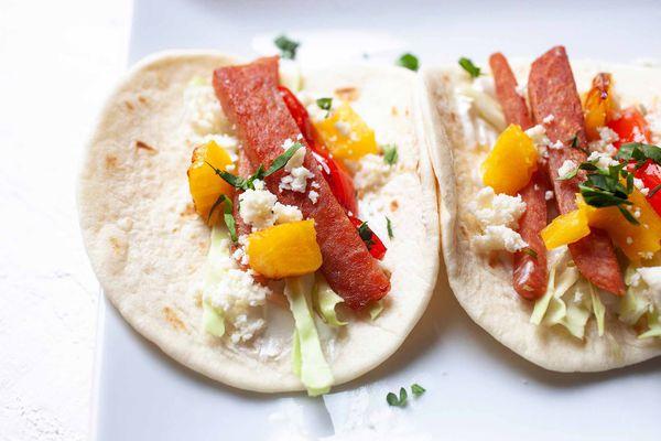 Spam tacos recipe