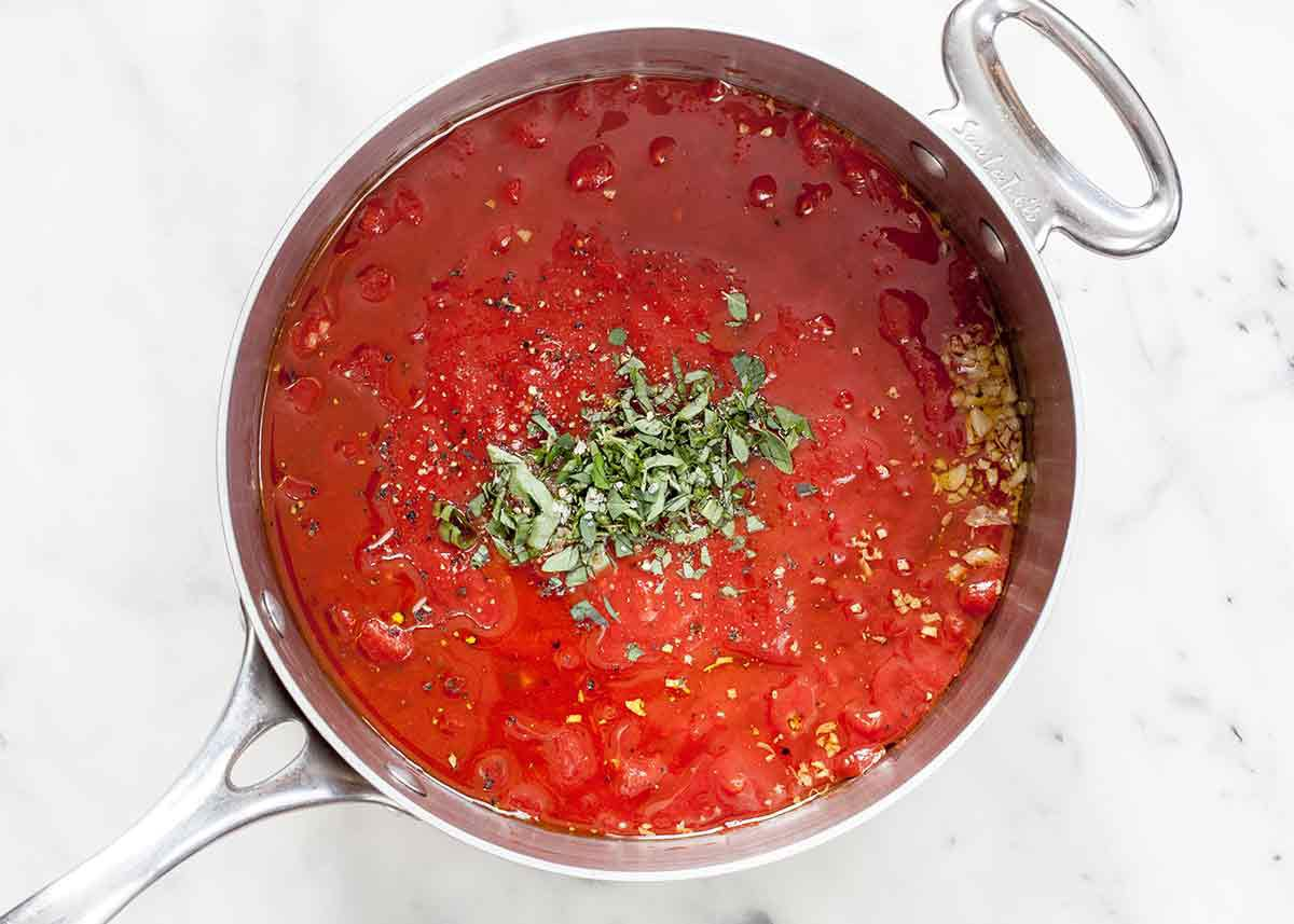 tomato sauce for baked chicken parmesan
