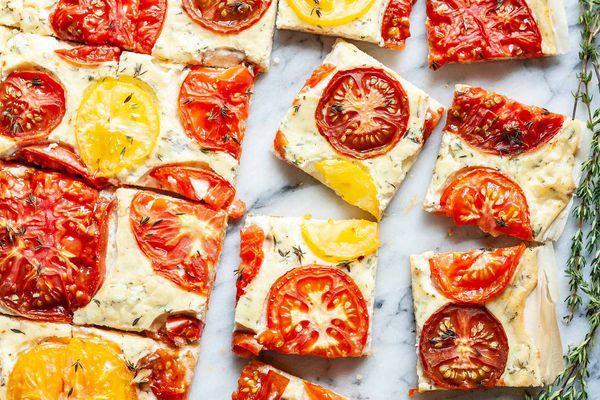 Tomato Tart Phyllo Dough
