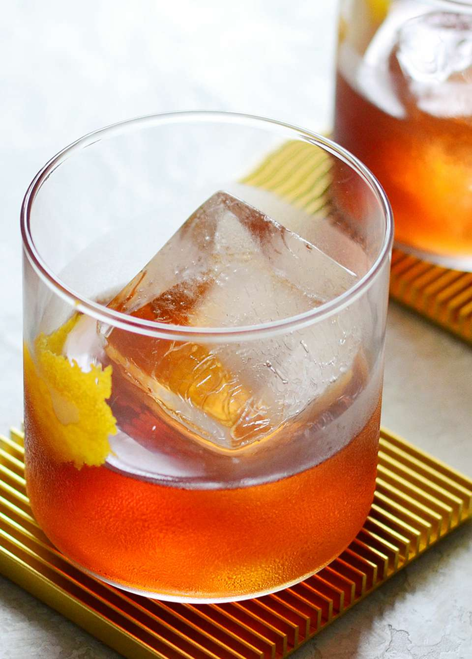 Old Fashioned Cocktail with Maple