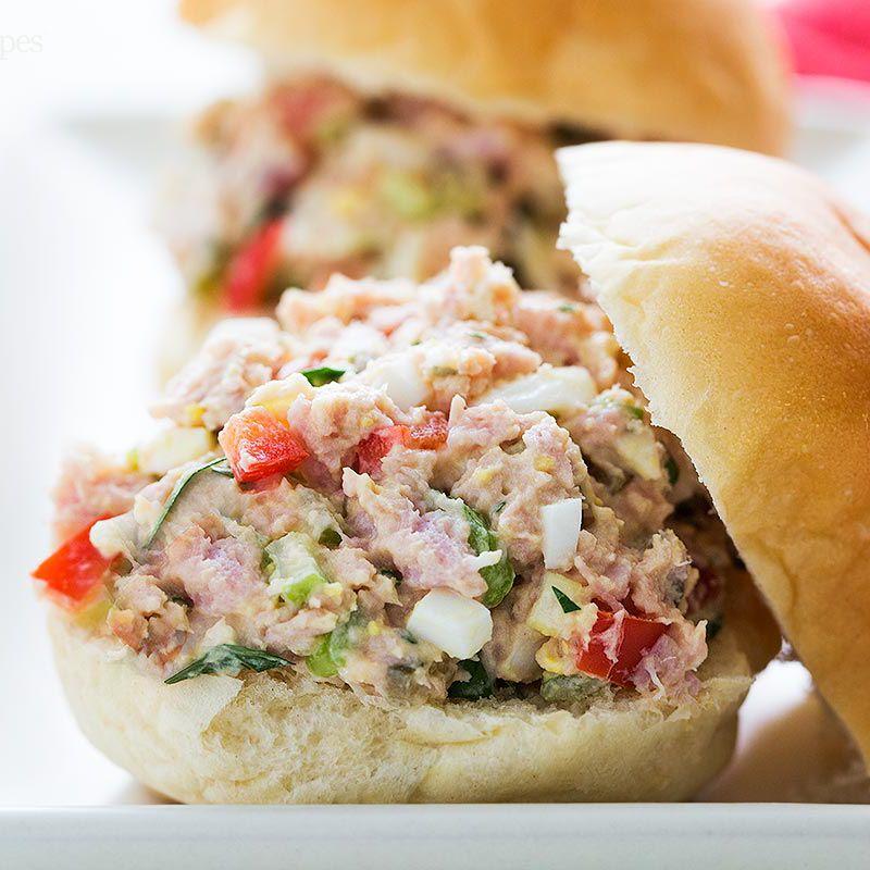 Ham Salad Sandwich Recipe Without Eggs
