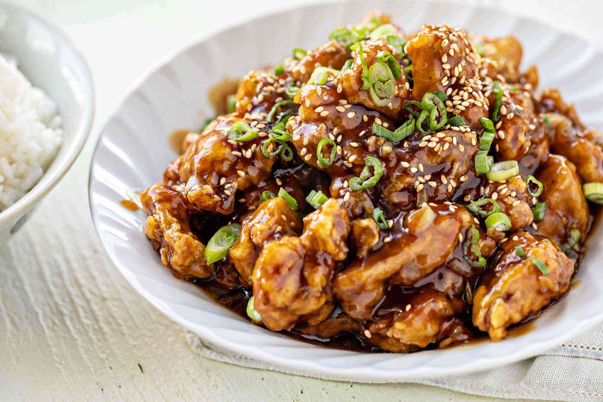 Chinese Orange Chicken Copycat Recipe