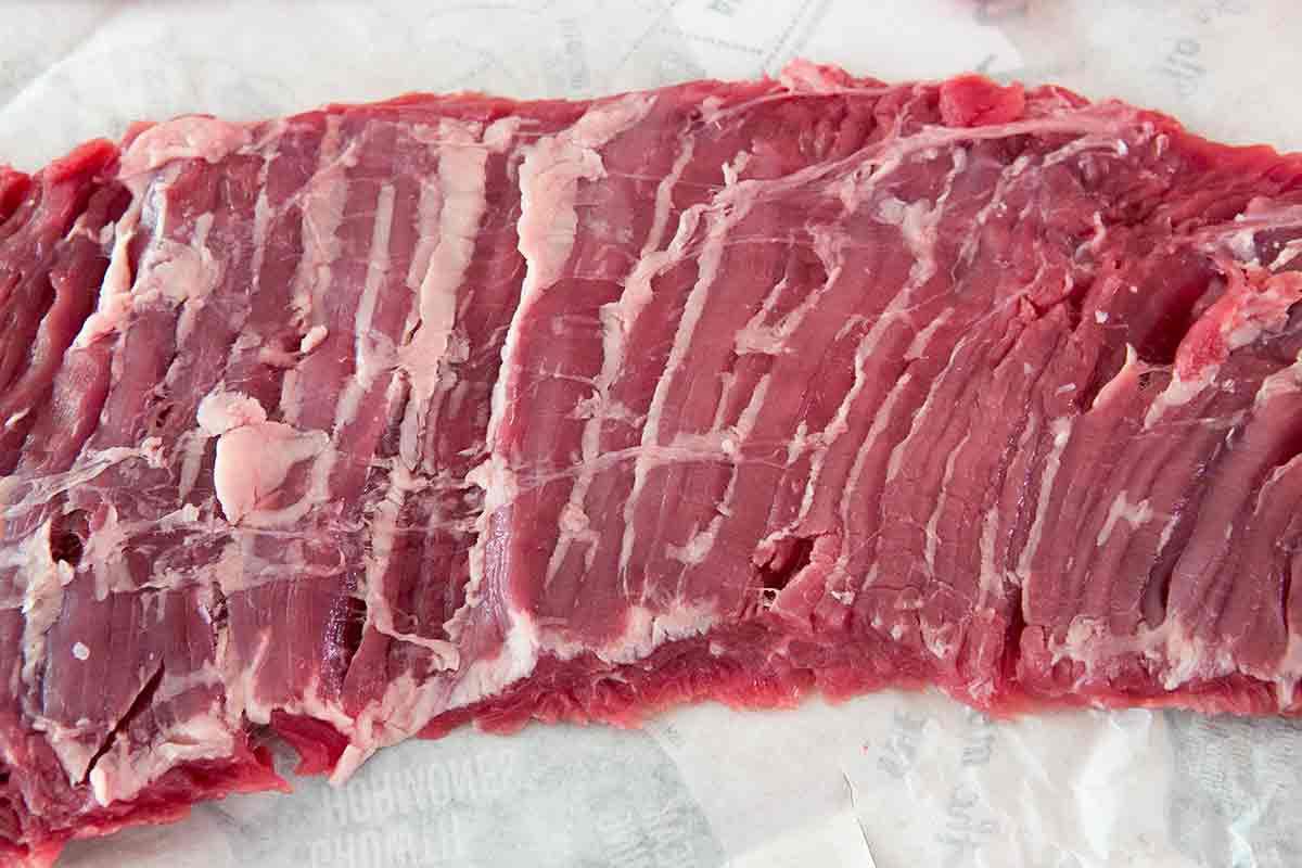 Grilled Skirt Steak recipes raw skirt steak