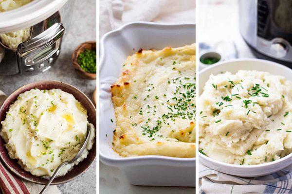 4 Ways to Make Mashed Potatoes