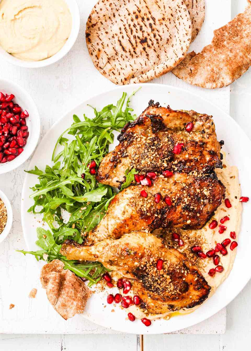 Chicken on the Grill with Dukkah Spice