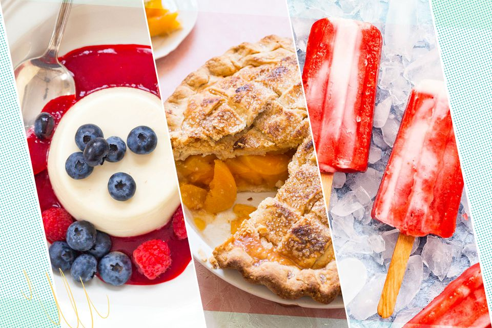 14 Dessert Recipes Packed with Fresh Summer Fruit