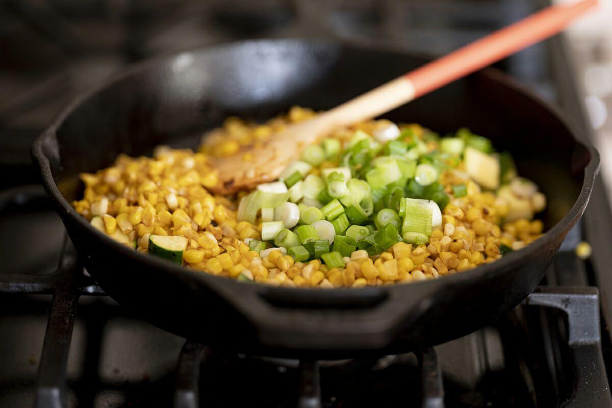 Sweet Corn quesadilla recipe