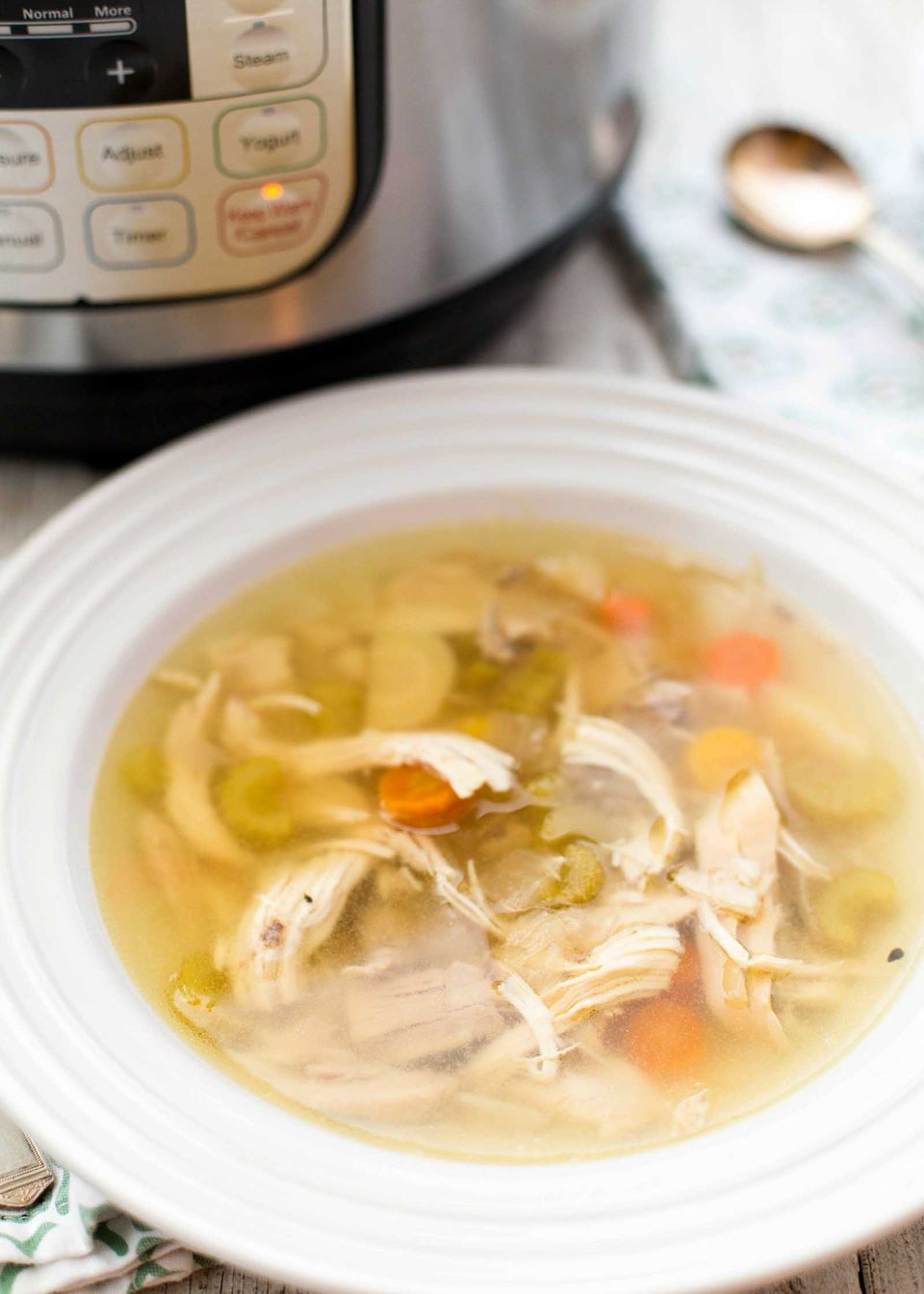 Pressure Cooker Chicken Soup