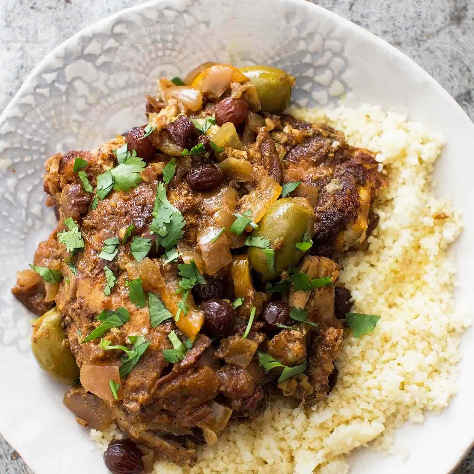 Slow Cooker Moroccan Chicken