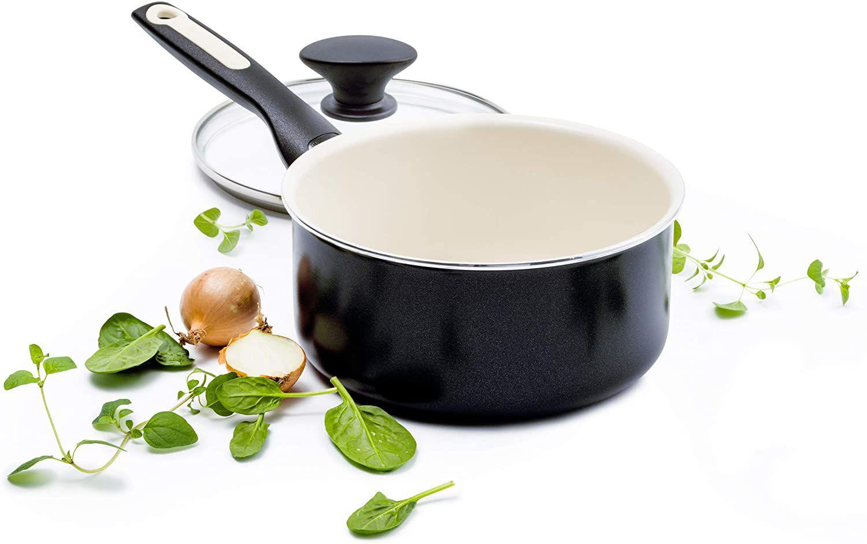 GreenPan Rio 2-Quart Ceramic Non-Stick Covered Saucepan