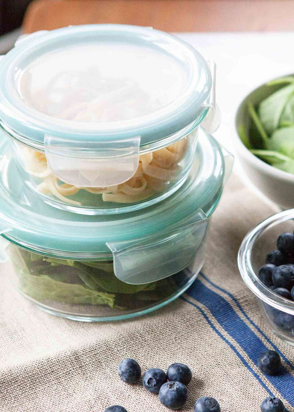 Food Storage Containers - glass containers are easy to reheat