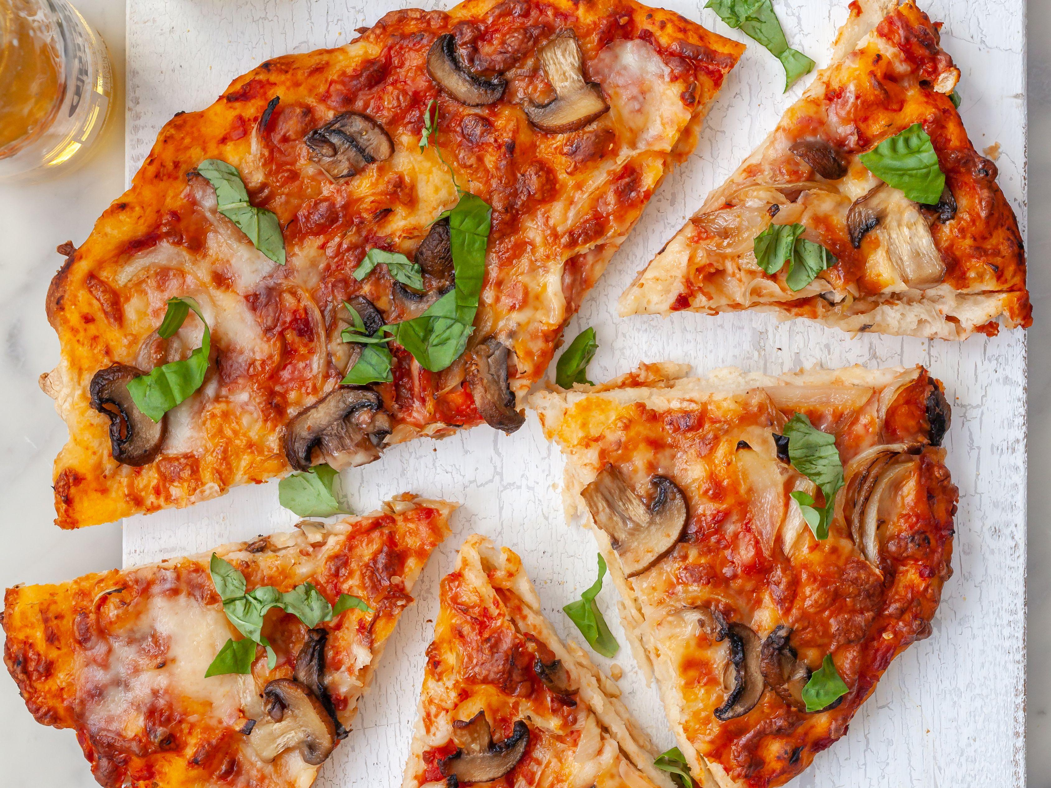 Homemade Pizza Pizza Dough Recipe