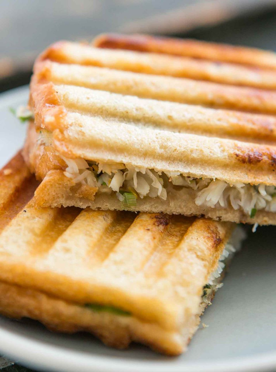 Crab Salad Panini