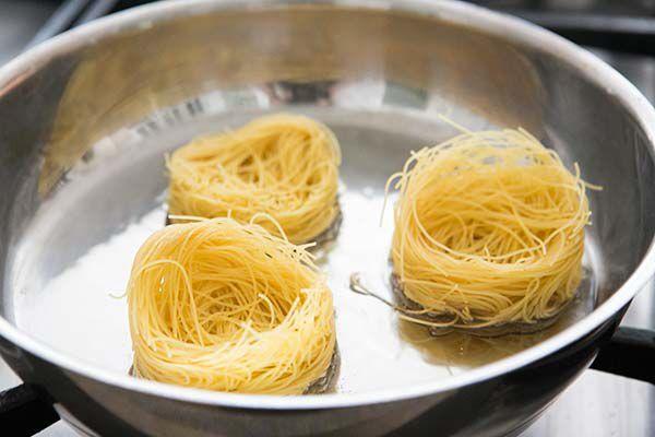 Angel Hair nests for Sopa Seca de Fideo
