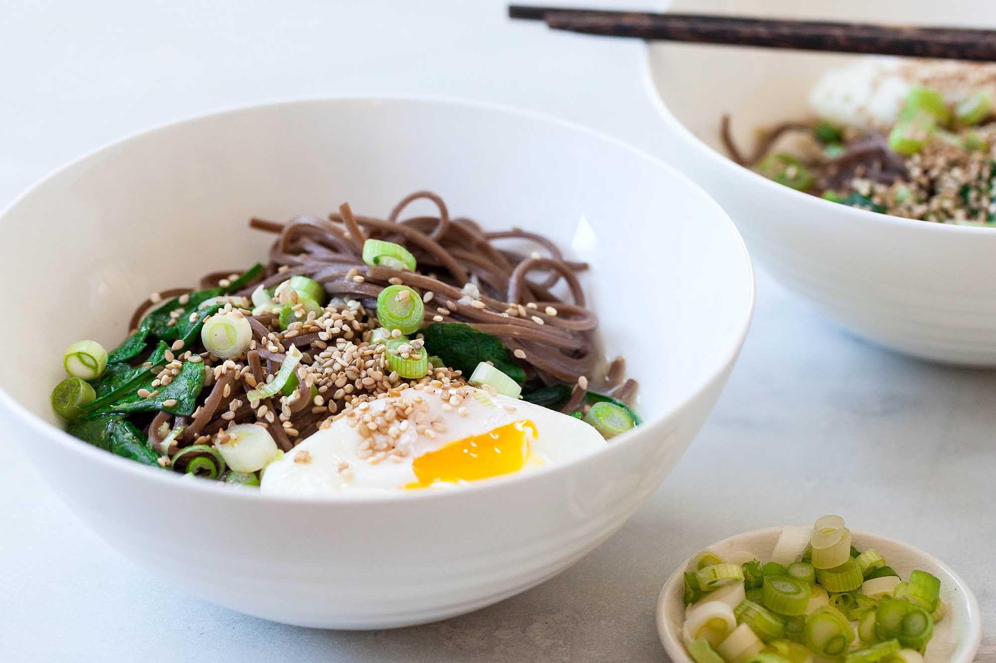 Sesame Soba Noodle Bowls