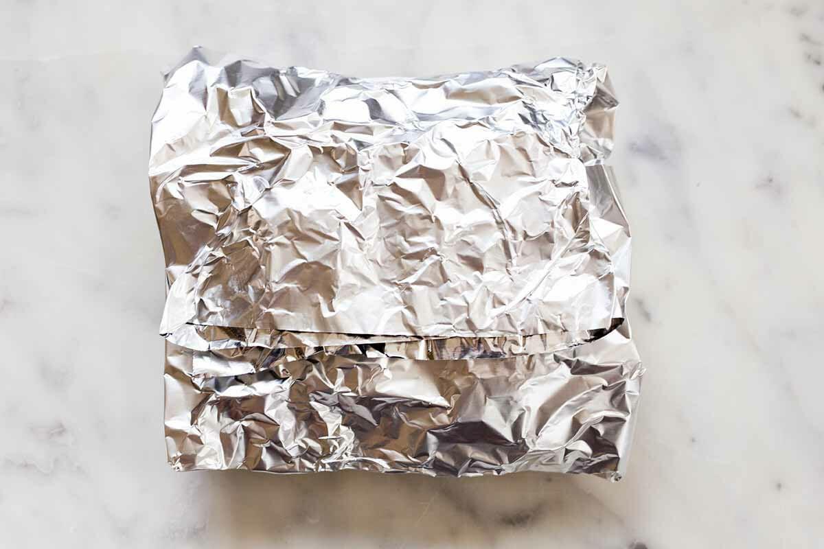 Sausage Foil Packet Meal make the foil pack