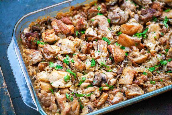 Best Chicken and Rice Casserole