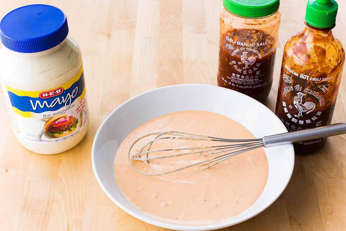 Bang Bang Shrimp Tacos Bonefish Recipe make the sauce