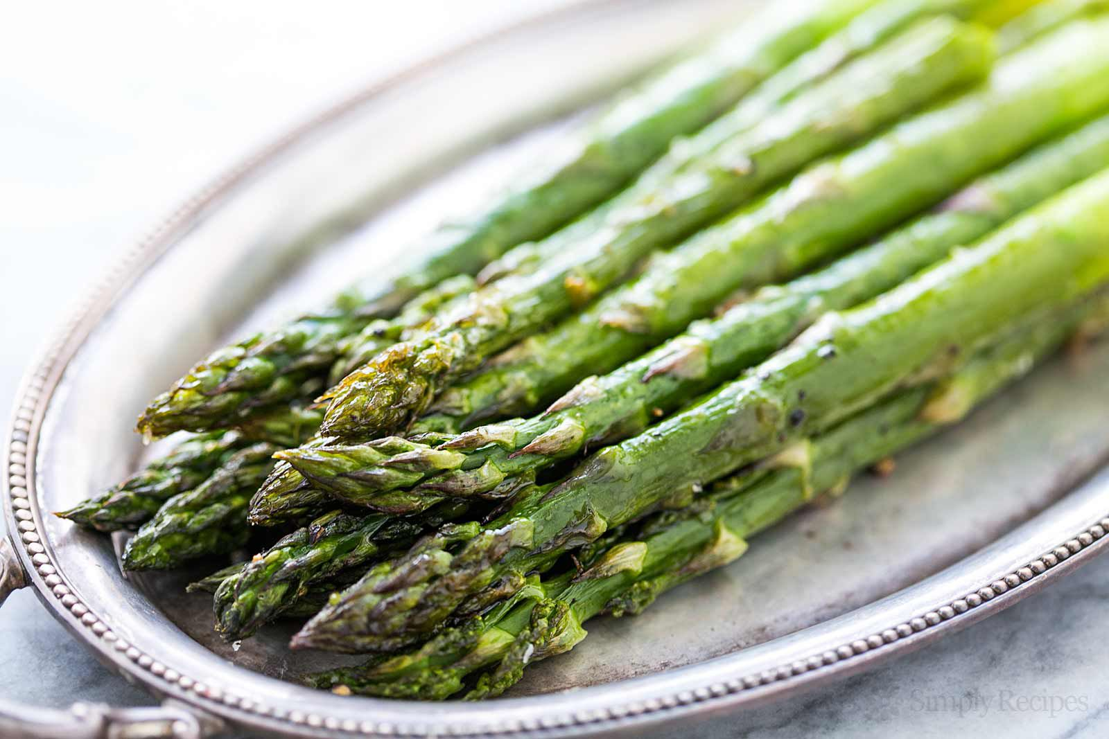 Easy Roasted Asparagus Light And Delicious