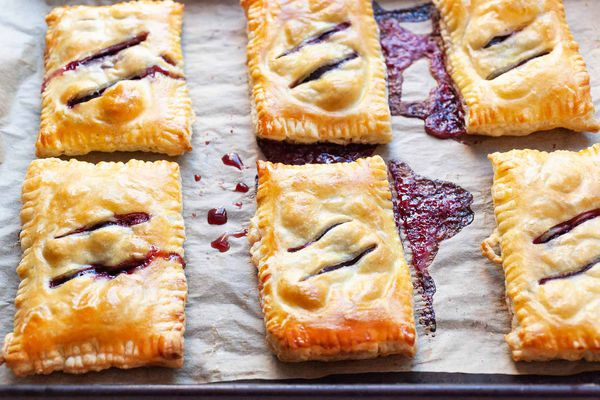 Hand Pies with Cherries