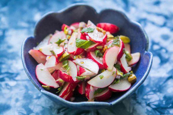 Radish Salad with Mint