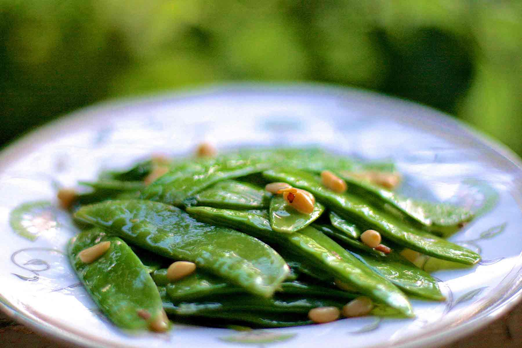 easy snow peas recipe