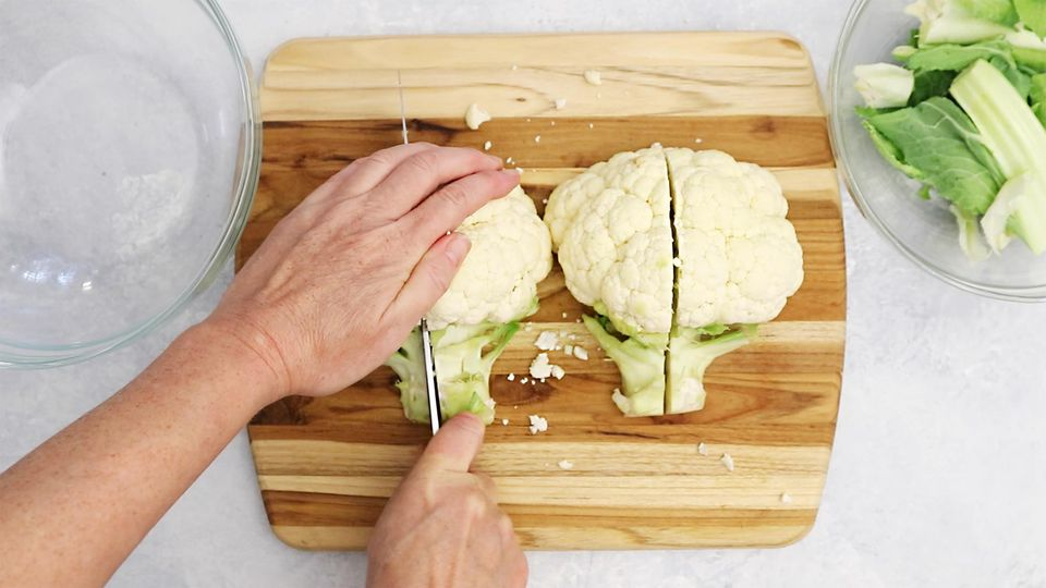 How to Cut and Core Cauliflower