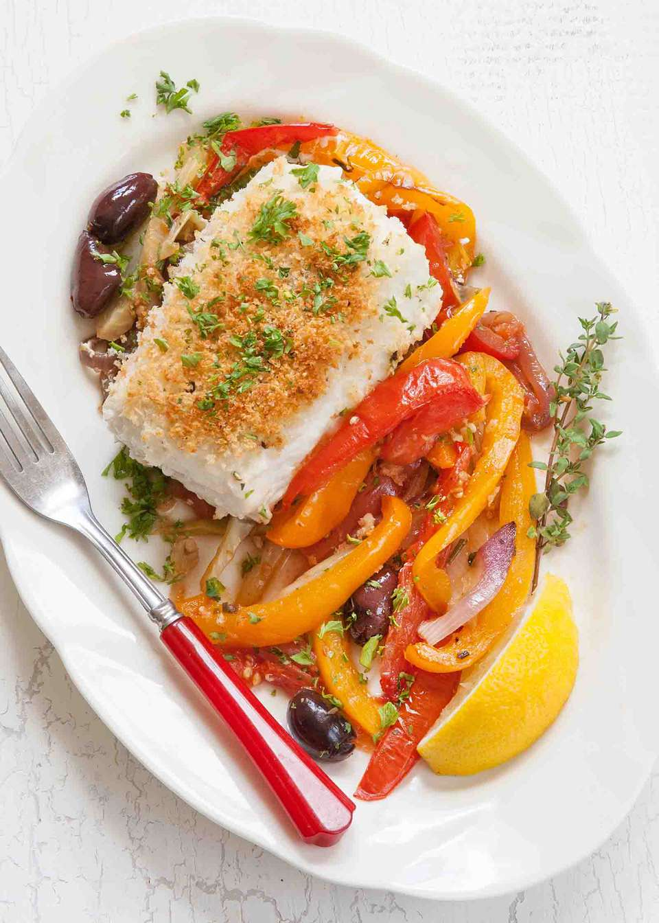 Halibut with Vegetables