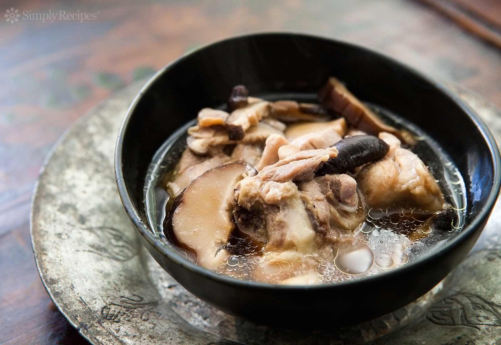 Chicken Soup Ginger Shiitake