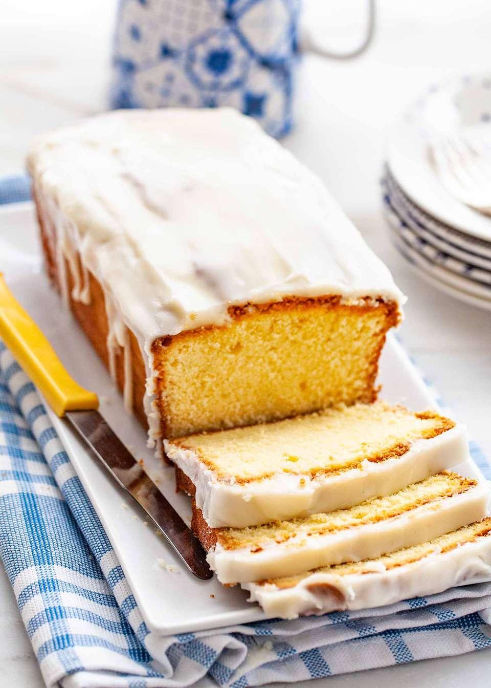 Easy Vanilla Pound Cake Recipe