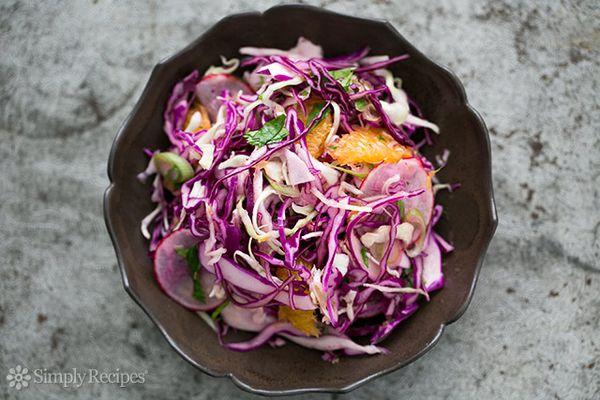 Citrusy Cabbage Salad